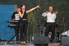 Dni Mesta Svit 2015 Violin show Stanislava Salanciho s kapelou.